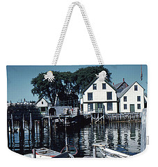 Port Clyde Maine Weekender Tote Bag