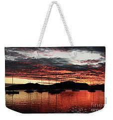 Port Denarau Fiji At Sunrise Weekender Tote Bag