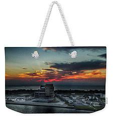 Port Everglades Sunrise Weekender Tote Bag