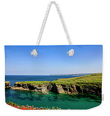 Port Isaac Coastline, Cornwall Weekender Tote Bag