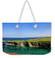 Port Isaac Coastline, Cornwall Weekender Tote Bag