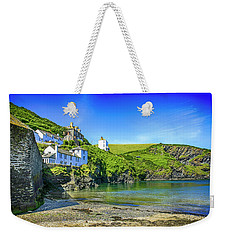 Port Isaac In Cornwall, Uk Weekender Tote Bag