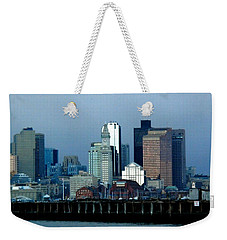 Port Of Boston Weekender Tote Bag