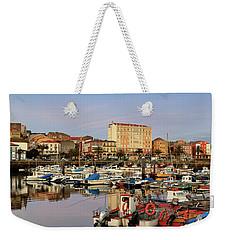 Port Of Ferrol Galicia Spain Weekender Tote Bag