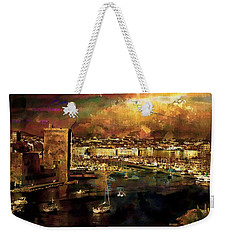 The Old Port Of Marseille Weekender Tote Bag