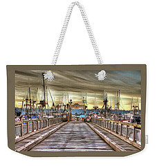 Port Of Newport - Dock 5 Weekender Tote Bag by Thom Zehrfeld