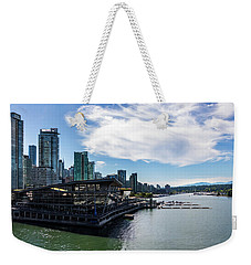 Weekender Tote Bag featuring the photograph Port Of Vancouver by Ed Clark