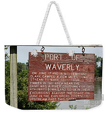Port Of Waverly Weekender Tote Bag