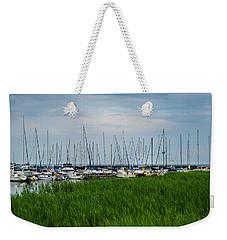 Port Sanilac Marina Weekender Tote Bag
