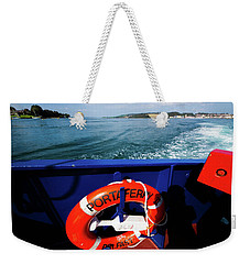 Portaferry Ferry Weekender Tote Bag