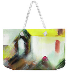 Portal Weekender Tote Bag by Anil Nene