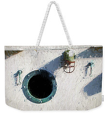 Portal To The Sea, Fine Art Print Weekender Tote Bag by Greg Sigrist