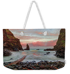Weekender Tote Bag featuring the photograph Portcoon by Roy McPeak