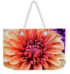 Weekender Tote Bag featuring the photograph Portentous Size by Jessica Manelis