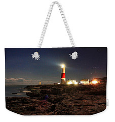 Portland Bill Lighthouse Weekender Tote Bag