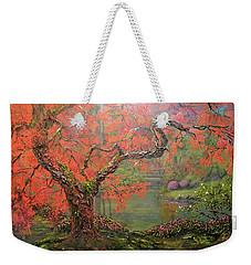 Portland Garden  Weekender Tote Bag