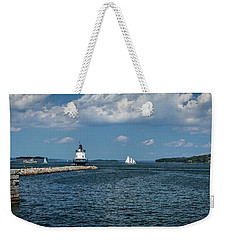 Portland Harbor, Maine Weekender Tote Bag
