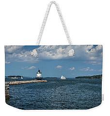 Portland Harbor, Maine Weekender Tote Bag