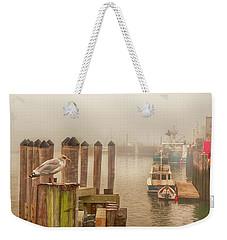 Portland Harbor Morning Weekender Tote Bag