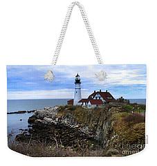 Portland Head In Maine Weekender Tote Bag