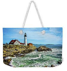Portland Head Light - Oldest Lighthouse In Maine Weekender Tote Bag