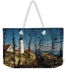Portland Head Lighthouse 5 Weekender Tote Bag by Sherman Perry