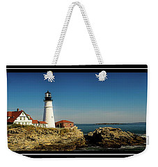 Portland Head Lighthouse 7 Weekender Tote Bag by Sherman Perry