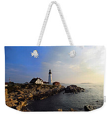 Portland Headlight Morning Glow Weekender Tote Bag