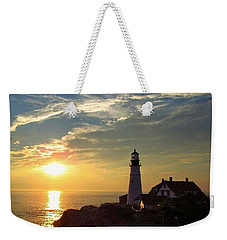Portland Headlight Sunbeam Weekender Tote Bag