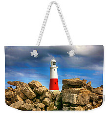 Portland Lighthouse, Uk Weekender Tote Bag by Chris Smith