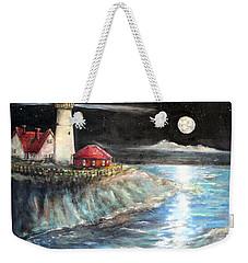 Portland Maine Twilight Weekender Tote Bag