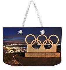 Portland Olympic Rings Weekender Tote Bag