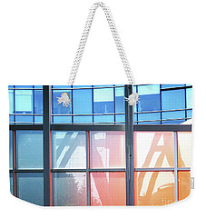 Portland Reflections And Distortions Weekender Tote Bag