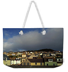 Weekender Tote Bag featuring the photograph Portland Skyline by Anne Kotan