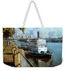 Portland Sunday Walk Weekender Tote Bag
