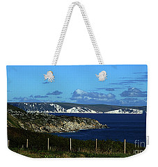 Weekender Tote Bag featuring the photograph Portland To Weymouth  by Baggieoldboy