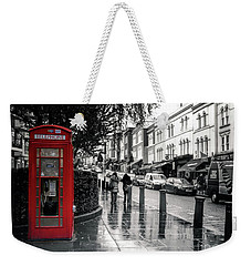 Portobello Road London Weekender Tote Bag by Lynn Bolt