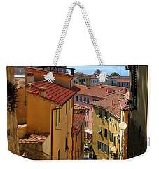 Portoferraio Elba Weekender Tote Bag by Carla Parris