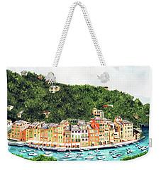 Portofino, Italy Prints From Myoriginal Oil Painting Weekender Tote Bag