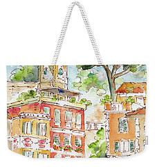 Portofino Piazetta Weekender Tote Bag by Pat Katz