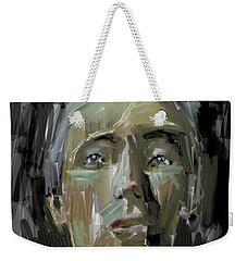 Portrait - 10march2017 Weekender Tote Bag by Jim Vance