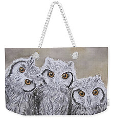 Portrait De Famille Weekender Tote Bag by Annie Poitras