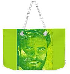 Portrait In Green Weekender Tote Bag