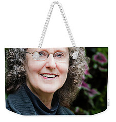 Portrait In The Leaves Weekender Tote Bag