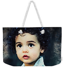 Portrait Of A Child Weekender Tote Bag