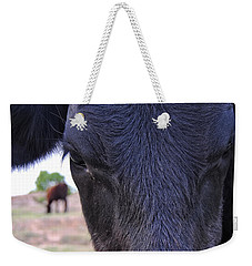 Portrait Of A Cow Weekender Tote Bag
