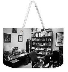 Portrait Of A Film/tv Professor's Office Weekender Tote Bag