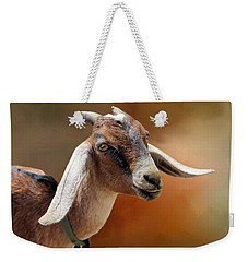 Portrait Of A Goat Weekender Tote Bag