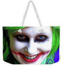 Portrait Of A Joker Weekender Tote Bag
