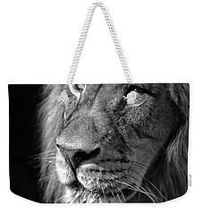 Portrait Of A King Weekender Tote Bag